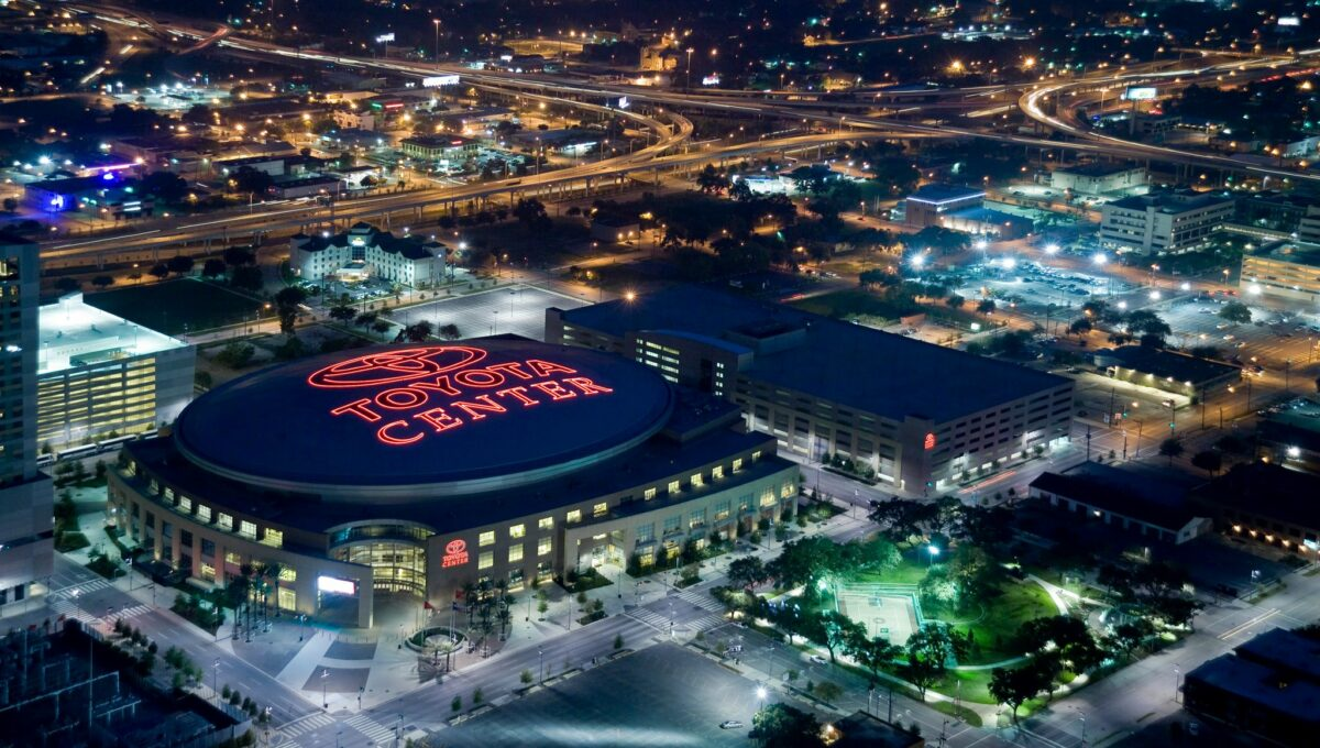 Toyota-Center-Aerial-View-Photo-courtesy-of-the-Houston-Rockets